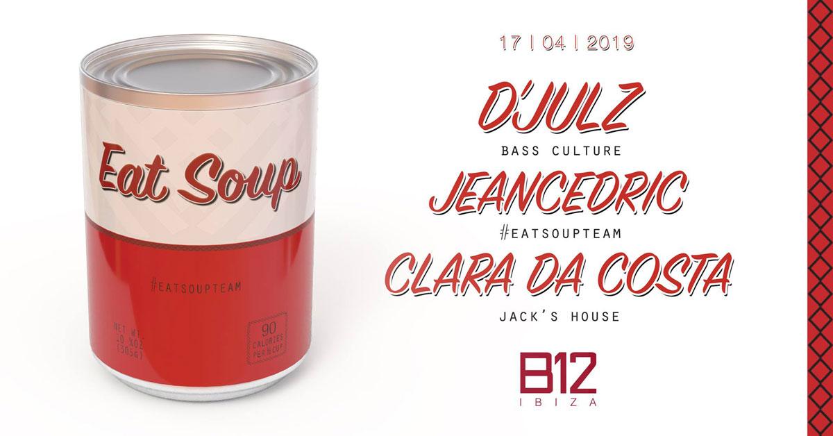 Showcase de Eat Soup en el club de B12 Ibiza