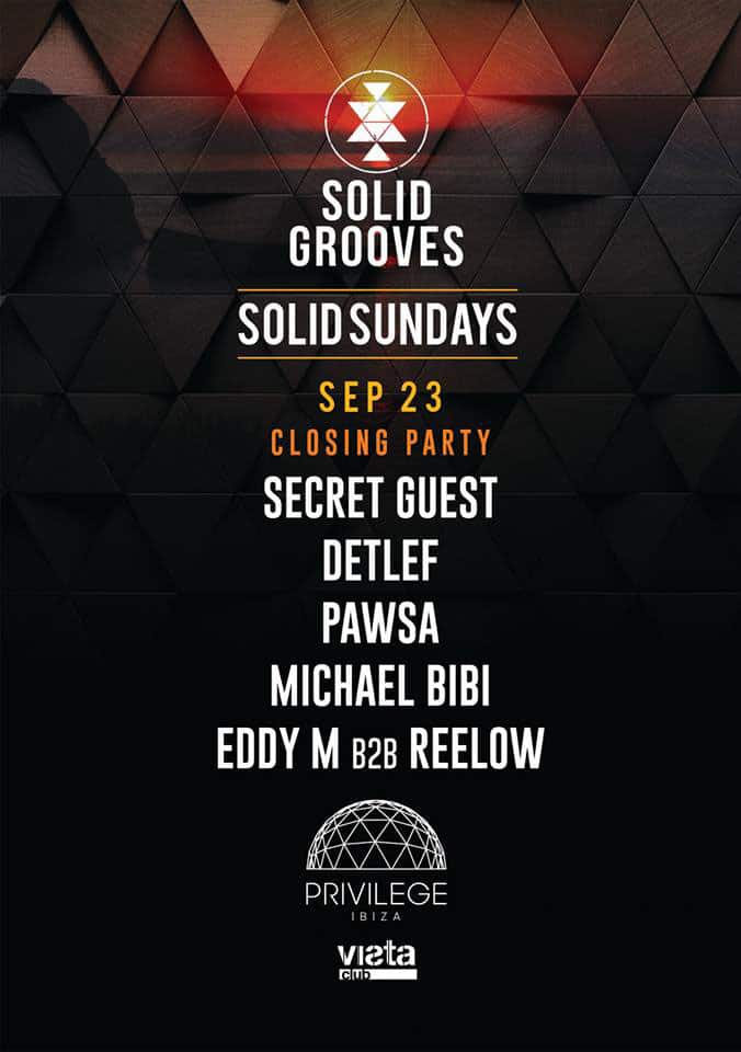 Solid Grooves Closing Party at Privilege Ibiza