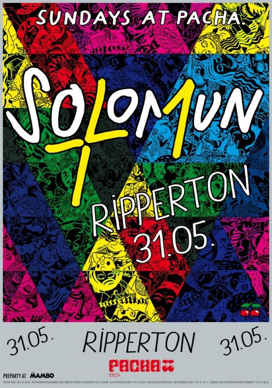 Ripperton en Solomun + 1 el domingo en Pacha Ibiza
