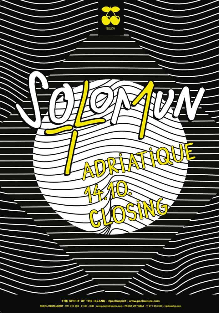 Закрытие вечеринки Solomun + 1 на Pacha Ibiza
