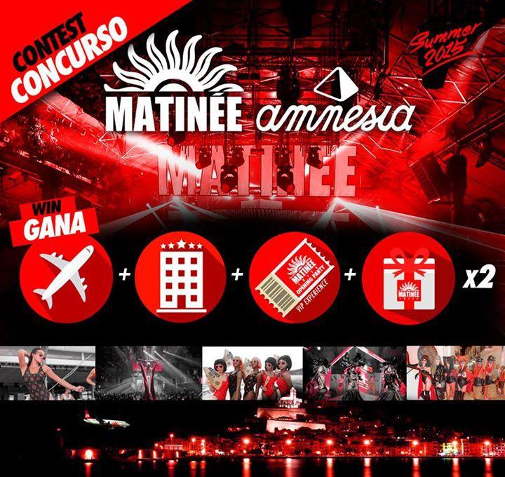 Matinée organise un voyage VIP pour son ouverture à Amnesia Ibiza