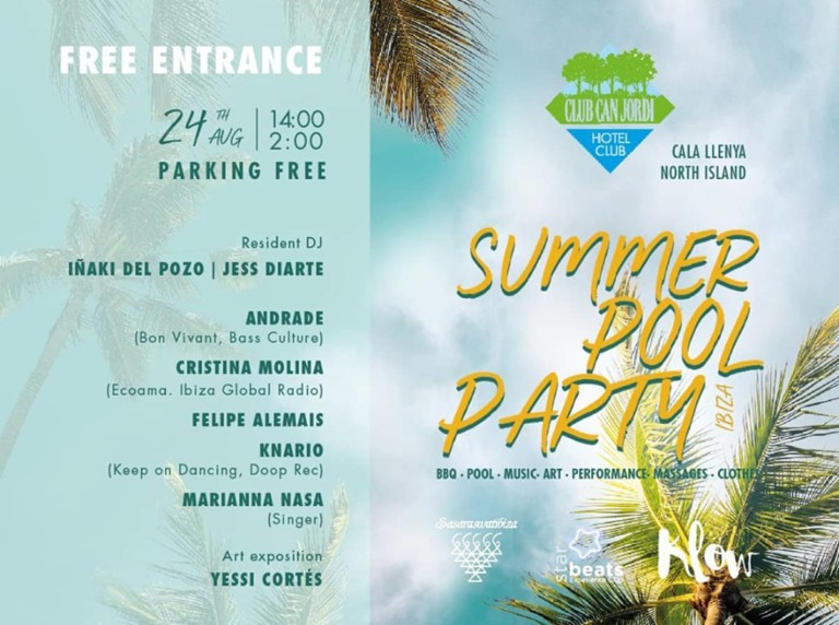 Summer Pool Party en Hotel Club Can Jordi‎ Ibiza