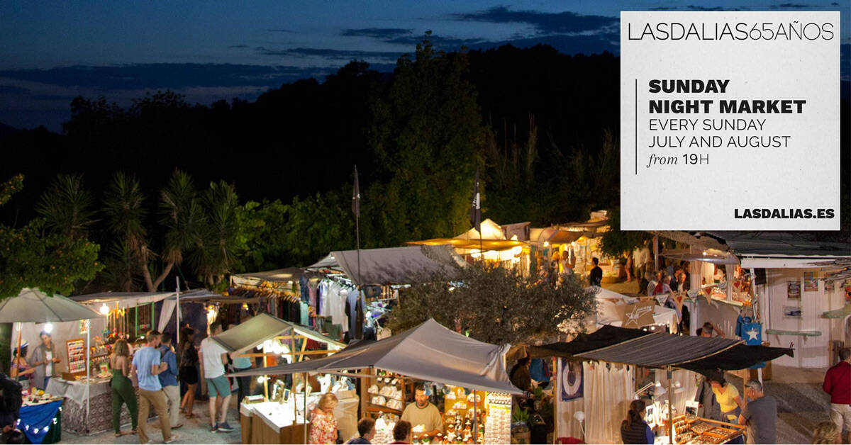 Sunday Night Market of Las Dalias Ibiza