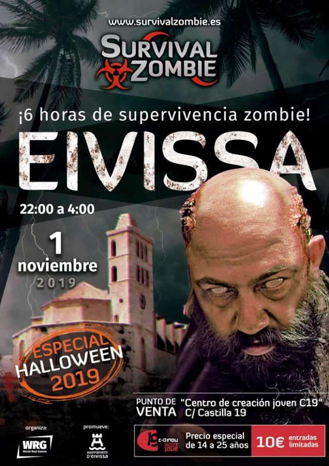 Überlebe den Zombie in Dalt Vila und lebe ein gruseliges Halloween