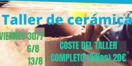 Aprende cerámica con el taller que organiza AstARTE de Sa Caleta Ibiza Actividades