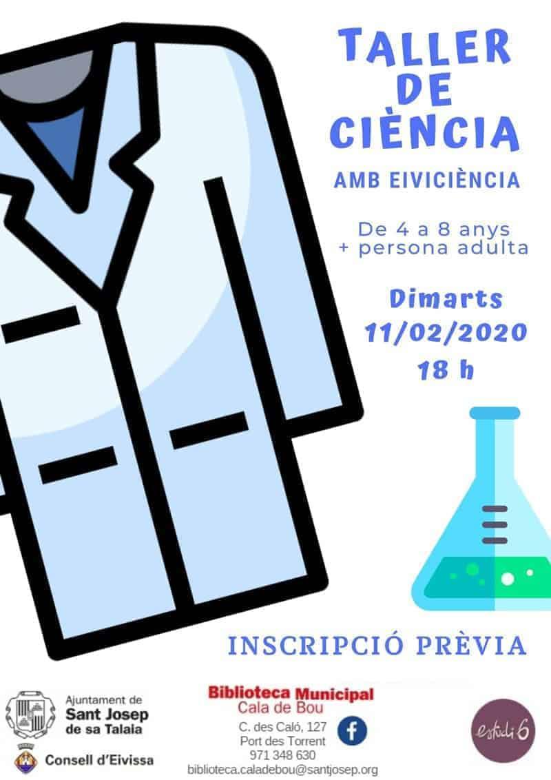 Taller de ciència per a nens a Sant Josep