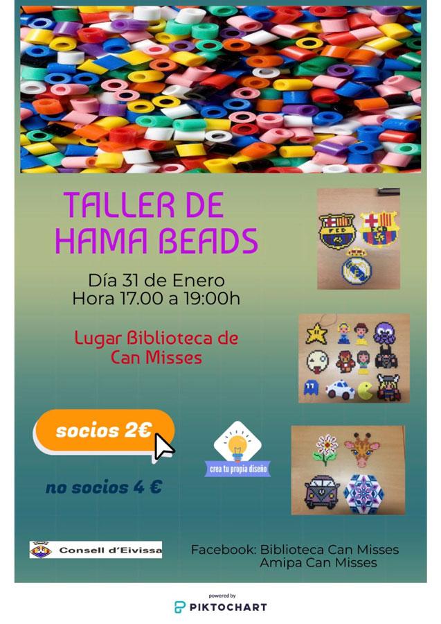 Семинар Hama Beads в библиотеке Can Misses