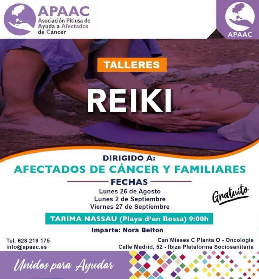 Free APAAC Reiki workshops for cancer sufferers