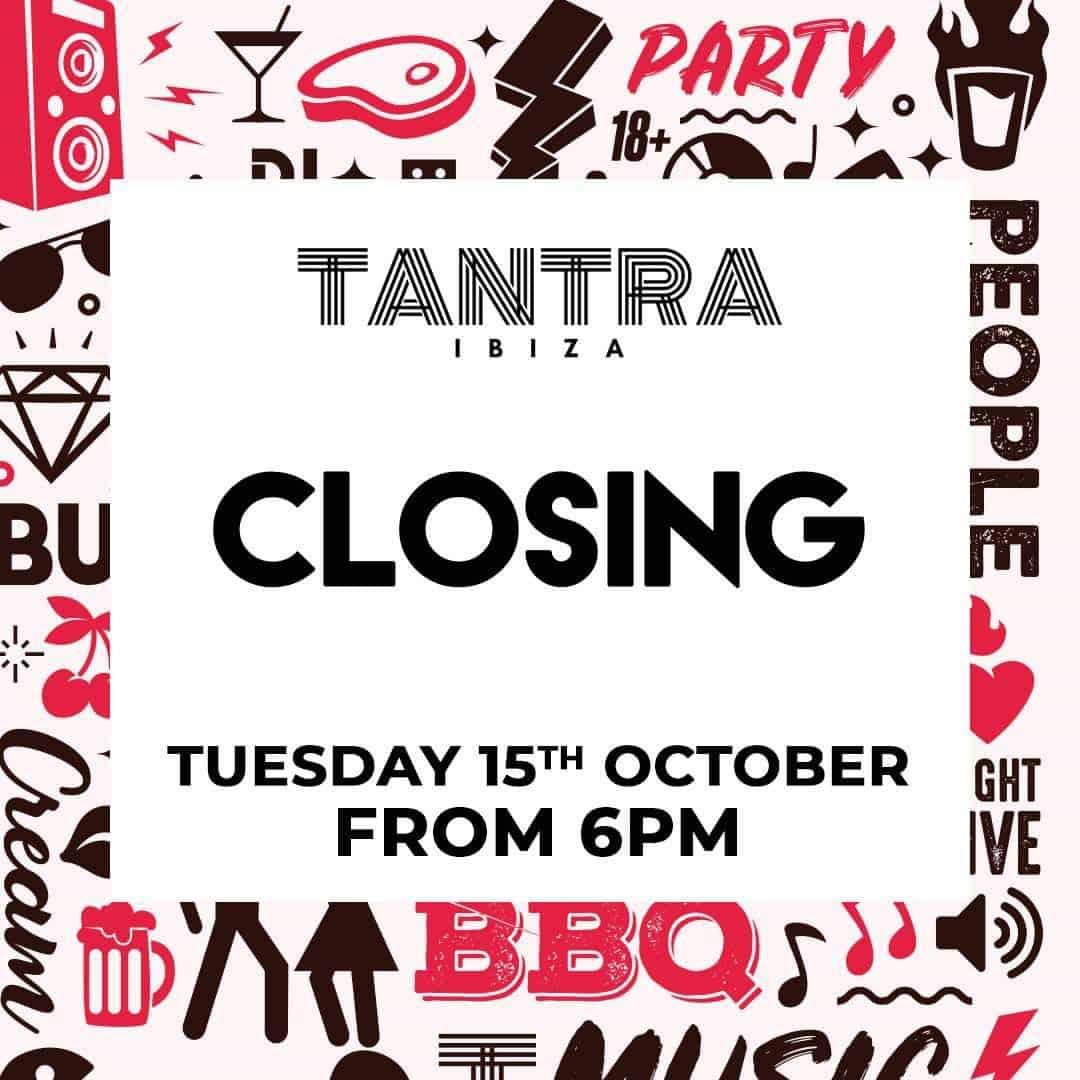 Закрытие вечеринки Тантра Ибица