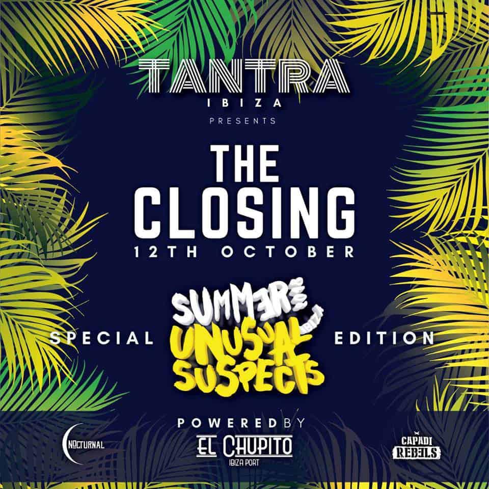 Необычные подозреваемые на заключительной вечеринке Tantra Ibiza 2018