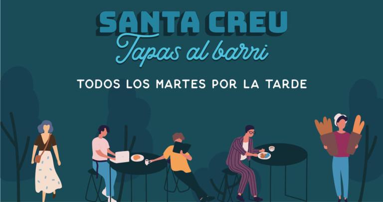 Tapas il martedì nel quartiere di Santa Creu a Ibiza