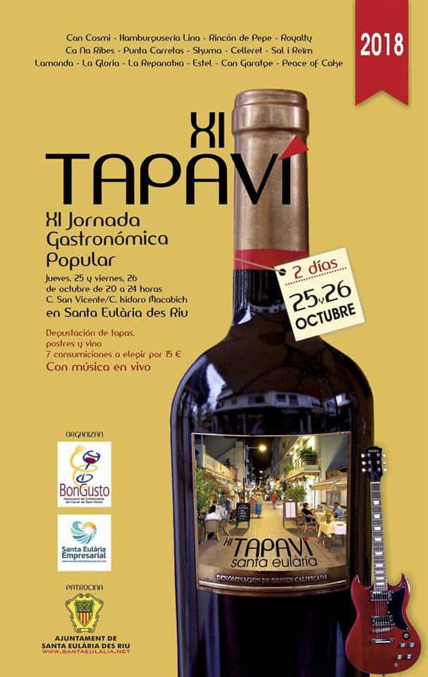 Santa Eulalia is full of flavor with the XI Tapavi