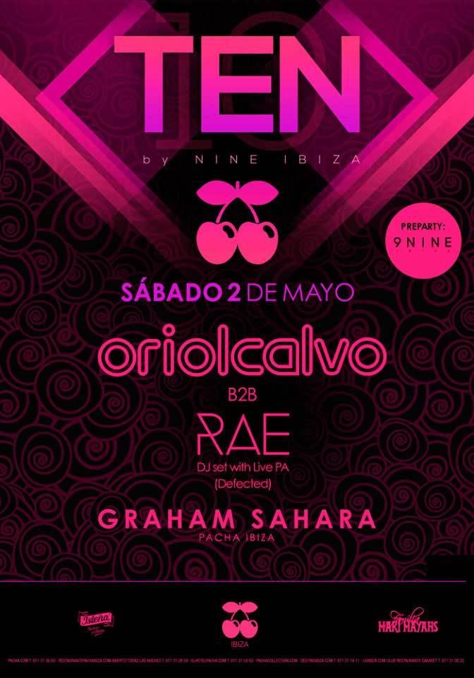 Samstag, neun Uhr zehn in Pacha Ibiza