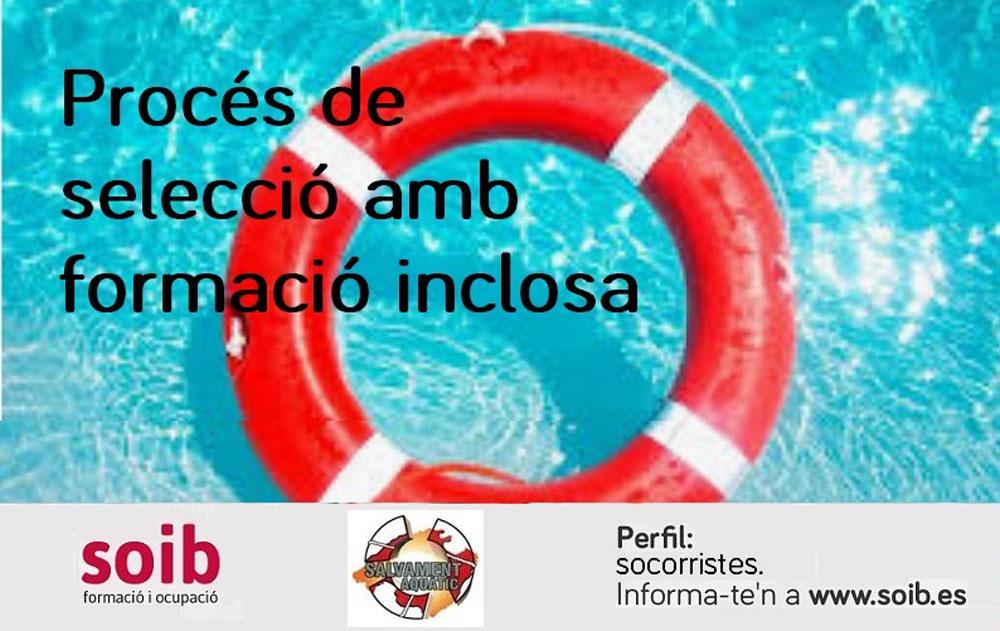 Trabajo en Ibiza 2020: Salvament Aquàtic selecciona socorristas