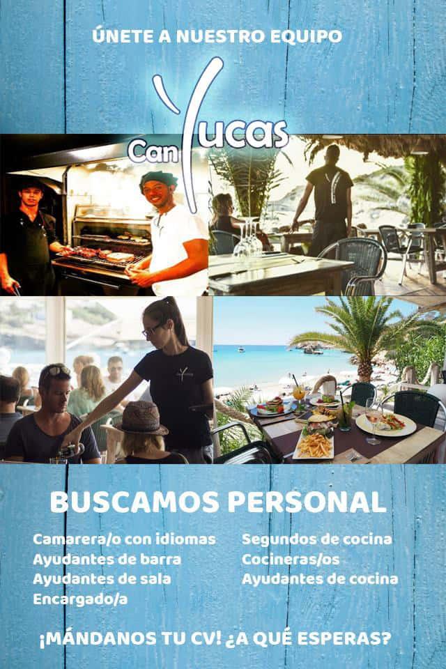 Lavoro a Ibiza 2018: il ristorante Can Yucas cerca personale