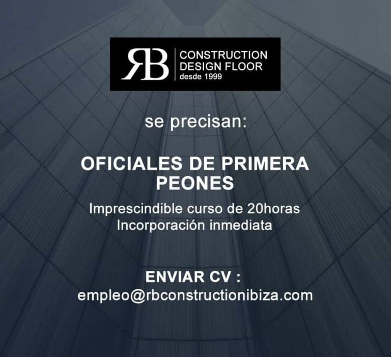 Lavori a Ibiza 2018: Construction Design Floor cerca personale