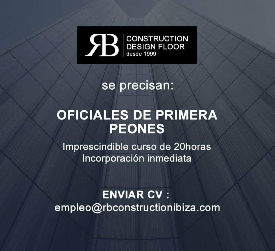 Работа на Ибице 2018: Строительный Дизайн Пол ищет сотрудников