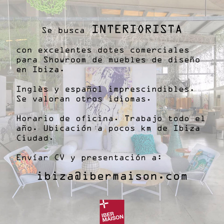 Lavorare a Ibiza 2019: Ibermaison cerca Interior Designer