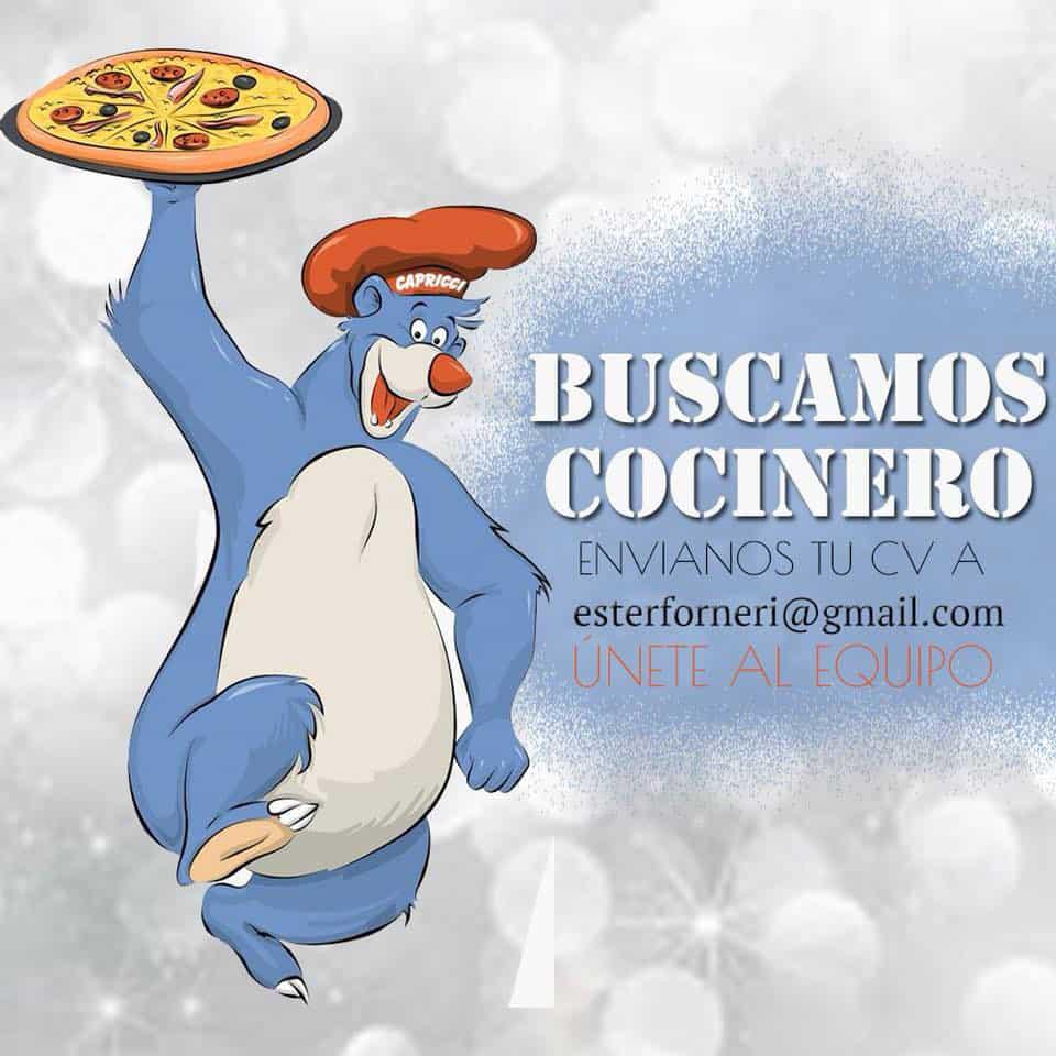 Работа на Ибице 2018: пиццерия Каприччи ищет повара