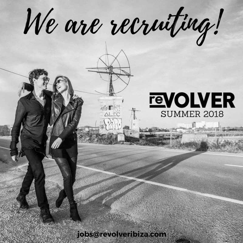 Работа на Ibiza 2018: магазин Revolver ищет персональных