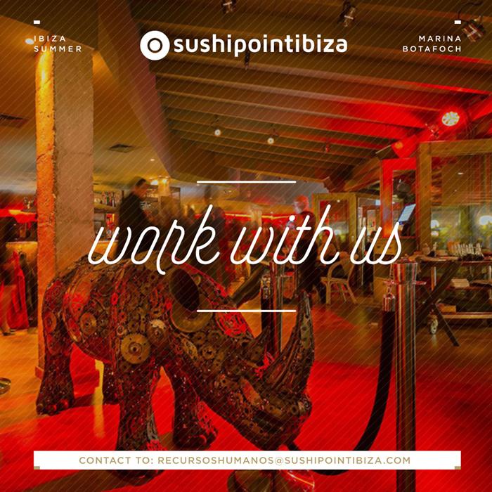 Travailler à Ibiza: Restaurant Sushipoint Ibiza recherche du personnel