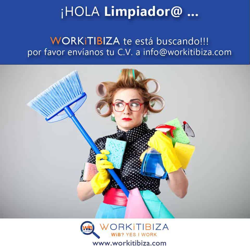 Работа на Ibiza 2019: WorkitIbiza выбирает уборщиков