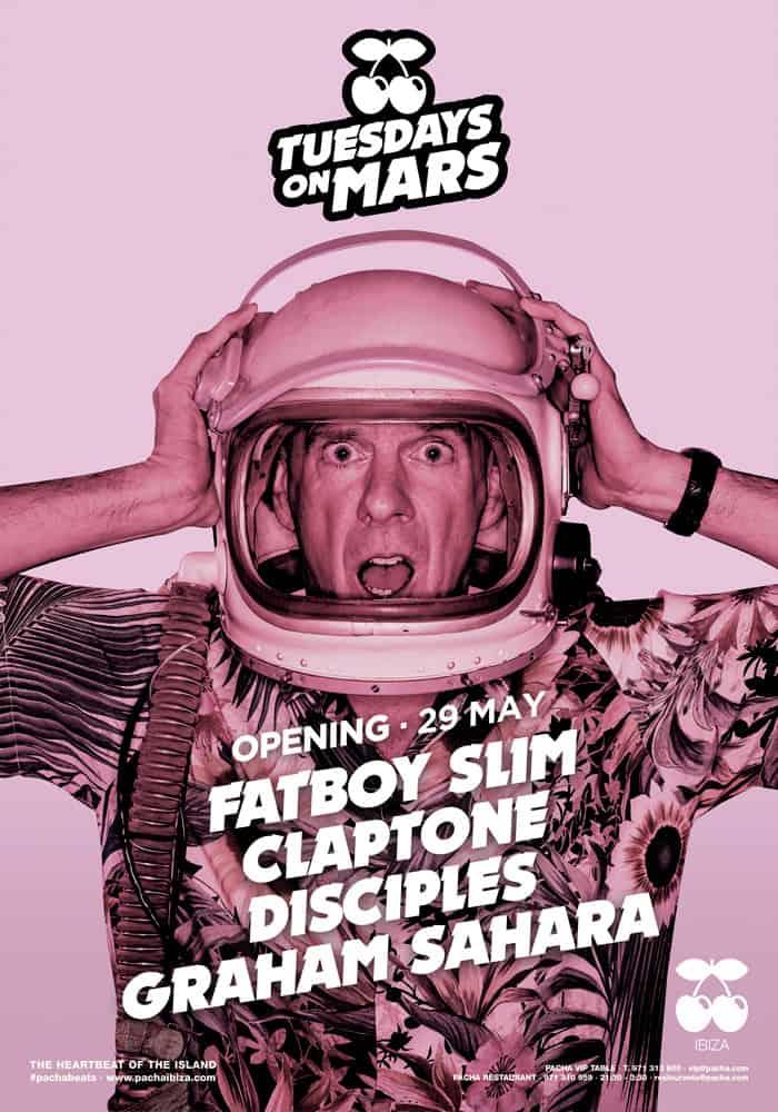 Opening Tuesdays on Mars in Pacha Ibiza