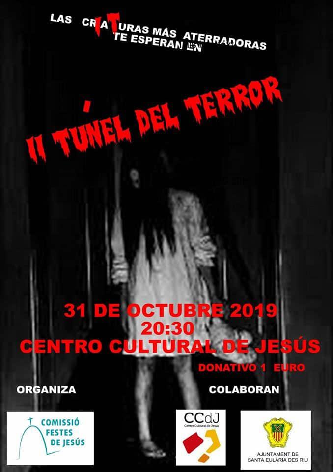 Terrortunnel im Kulturzentrum Jesu