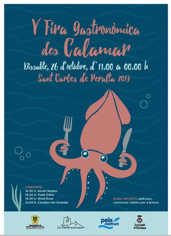 V Feria Gastronómica del Calamar en San Carlos