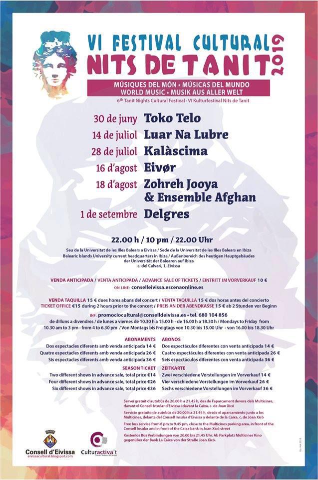 Фестиваль Ниц де Танит