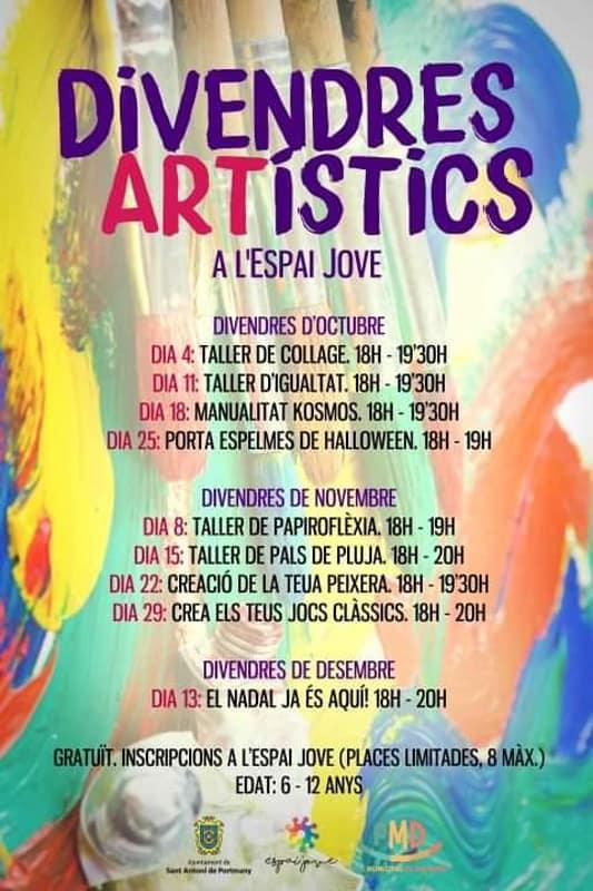 Художественные пятницы в Эспай Хове де Сан Антонио