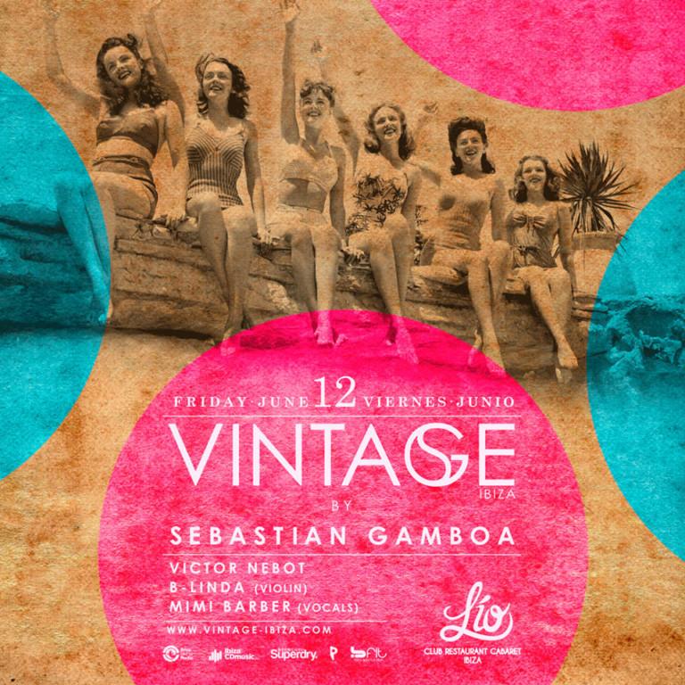 Descubre la elegancia retro de Vintage en Lío Club Ibiza