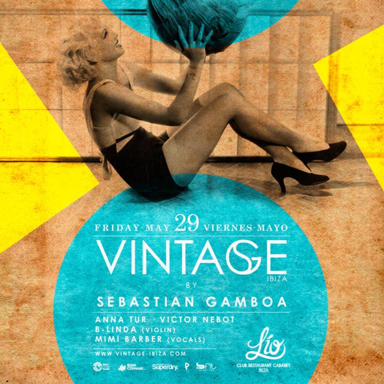 Viernes mágicos con Vintage en Lío Club Ibiza