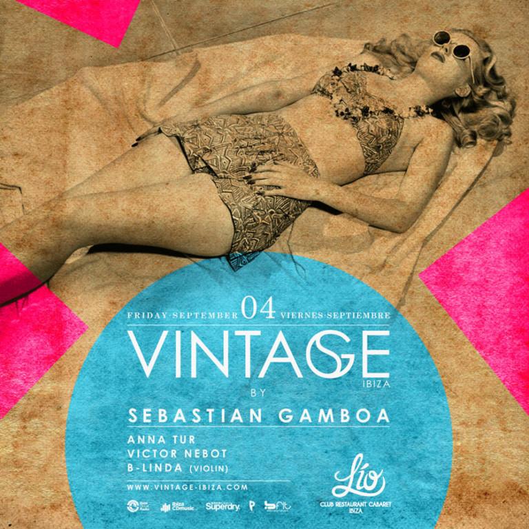 Mágico viernes en Lío Club Ibiza con Vintage de Sebastian Gamboa