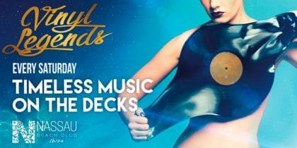 Vinyl Legends kehrt zum Nassau Beach Club Ibiza Lifestyle zurück