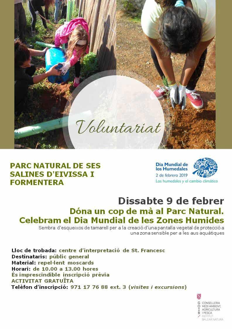 Jornada de Voluntariado por el Día Mundial de las Zonas Húmedas