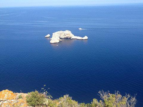 Loop door San Miguel met Walking Ibiza