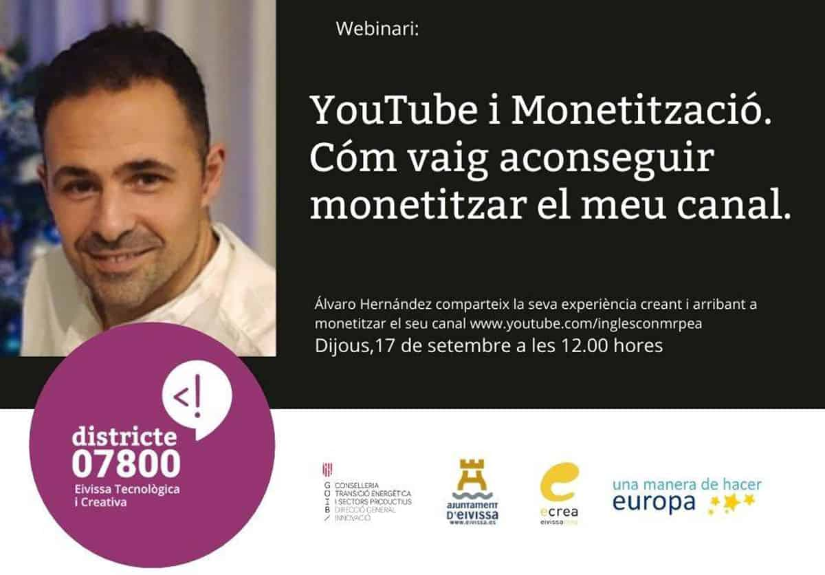 webinario-youtube-monetizacion-alvaro-hernandez-districte-07800-ibiza-2020-welcometoibiza
