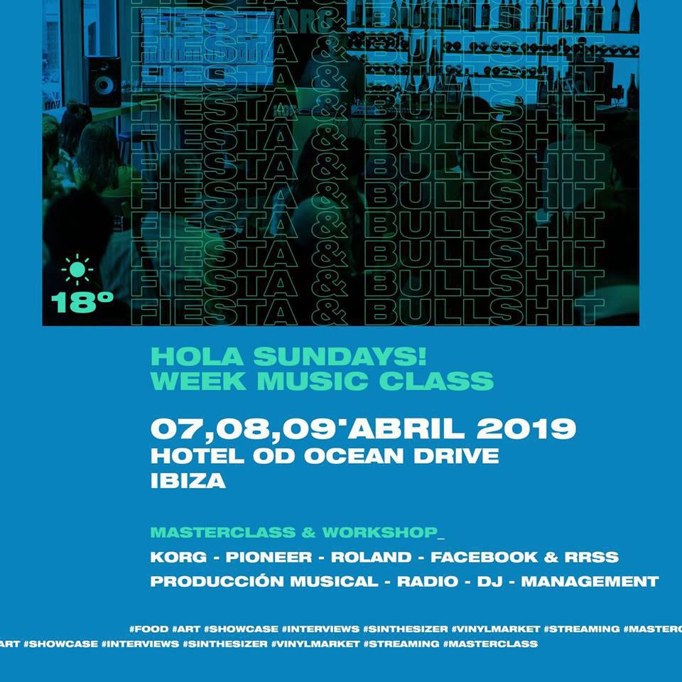 Hallo, sonntags! präsentiert die erste Woche der Musikklasse im OD Ocean Drive Ibiza