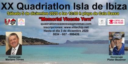 XX Quadriatlón Isla de Ibiza en Cala Bassa Deportes