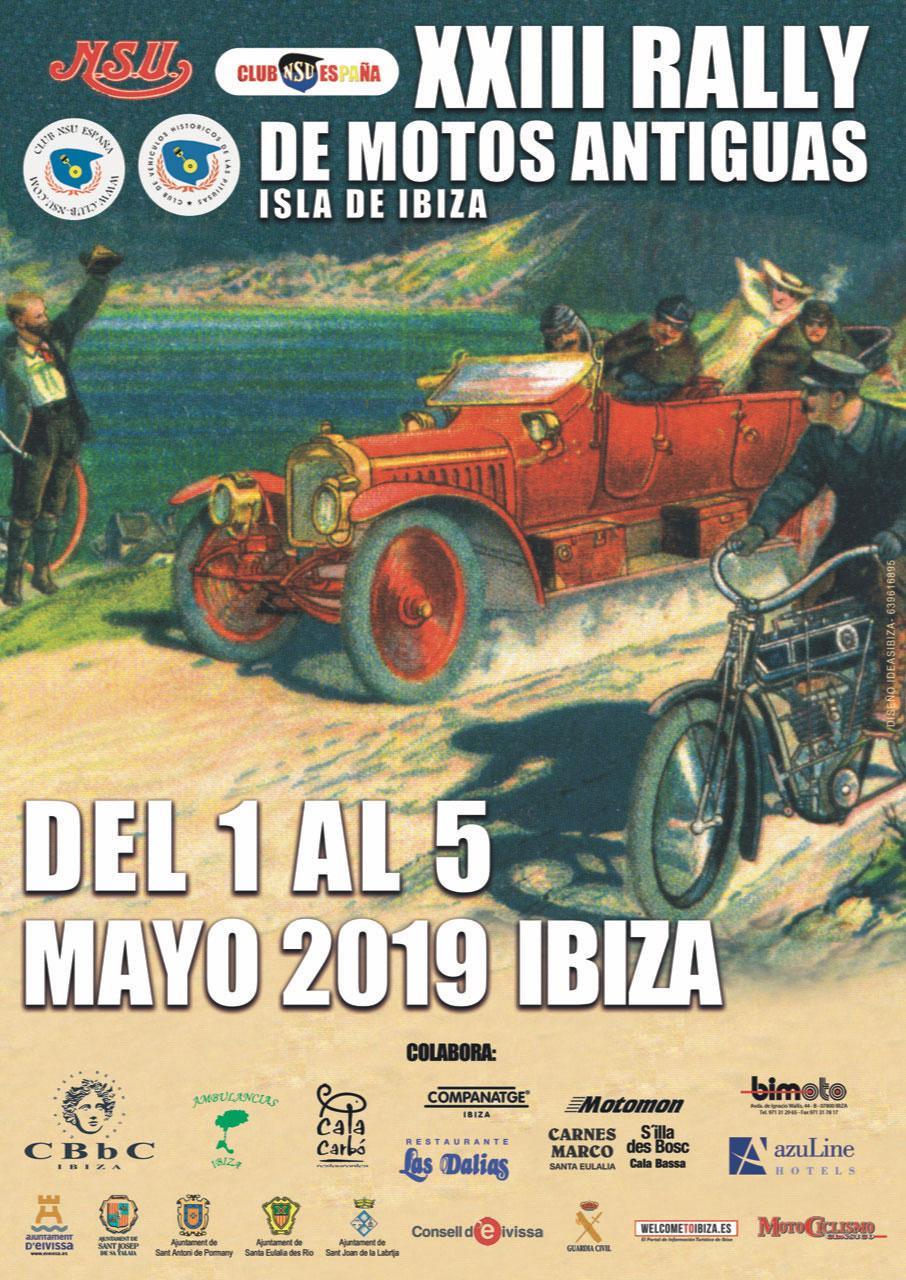 XXIII Rally de Motos Antiguas Isla de Ibiza