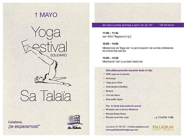 Yoga-Solidaritätsfestival in Sa Talaia Ibiza