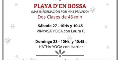 SOS Yoga Ibiza Sports Solidarity Yoga classes are back