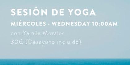 Yoga et petit-déjeuner le mercredi à l'Hostal La Torre Eventos Ibiza Consciente