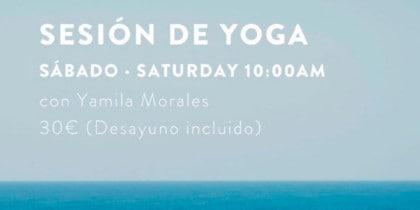 Yoga et petit-déjeuner à l'Hostal La Torre pour bien commencer le week-end Evénements conscients d'Ibiza